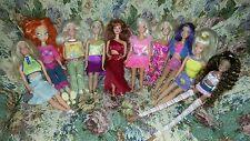 Barbie e Winx bambole lotto