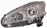 Projecteur Phare Avant dx pour Peugeot 208 2012 IN Avec Lentille Et DRL LED