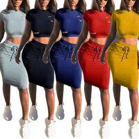 USA Women's Sleeveless  Cocktail Short Mini Evening Bandage Bodycon Party Dress