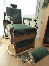 antique barber chairs for sale ebay