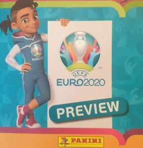 PANINI UEFA EURO 2020 PREVIEW STICKERS ESP 1 -  POL 28   'SINGLE STICKERS'