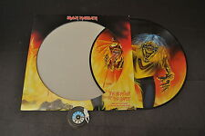 LP 33 IRON MAIDEN NUMBER OF THE BEAST  LTD PICTURE DISC UK 2005