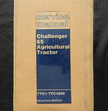 "CATERPILLAR ""65 CHALLENGER"" AGRICULTURAL CRAWLER TRACTOR SERVICE MANUAL SER 7YC1"