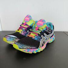 Asics Gel Noosa Tri 8 Women's Running Shoes T356N Pink Yellow Black Size 11