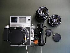Mamiya UNIVERSAL PRESS SUPER 23 Medium Format Camera with 3 lens set and grip