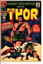Journey Into Mystery #124 VG+ Marvel (1966) -1st App Of Queen Ula -3rd Hercules