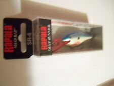 1 Rapala Deep Shad Rap Minnow Lure SR6 Bleeding Blue Shad BBSD NIP