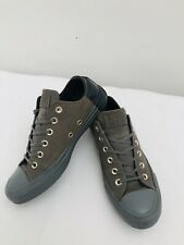 Converse trainers uk size 5.5 grey leather low tops with suede