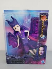 """Hasbro Disney Descendants 3 Dragon Queen Mal 11"""" Doll With Expanding Wings New"""