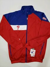 Majestic Philadelphia Phillies Jacket Full Zip Track Jacket - MLB Big & Tall LT
