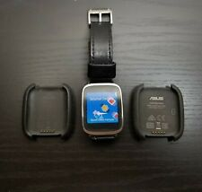 ASUS ZenWatch Stainless Steel Case Fossil Leather Band 2x charging Cradle