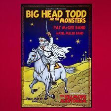 Big Head Todd Original 2000 Tour Poster. Denver Colorado. Bill Graham.