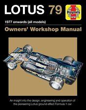 Lotus 79 Owners Workshop Manual H6079