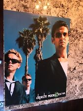 Depeche Mode 2001 exciter promotional poster 24x18 New old stock