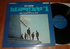 """MOODY BLUES Vintage """"Go Now-The Moody Blues #1"""" LP UNPLAYED"""