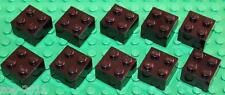 Lego Black Brick 2x2 10 pieces NEW!!!