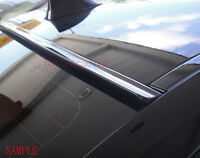 Painted For 2011 2012 2013 2014 DODGE CHARGER-Rear Window Roof Spoiler(Black)