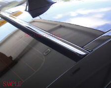 Painted For 2015 2016 2017 DODGE CHARGER-Rear Window Roof Spoiler(Black)