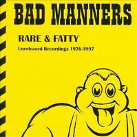Bad Manners - Rare & Fatty Unreleased Recordings 1976-1997 CD 2013 USED
