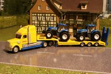 Siku 1805 Freightliner Truck with New Holland 7070 Tractors Scale 1:87 Diecast