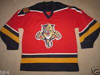 Florida Panthers CCM NHL Hockey Jersey LG L