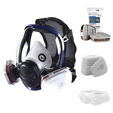 Reusable Full Face Mask Cover For Painting Machine Polishing Woodworking Welding