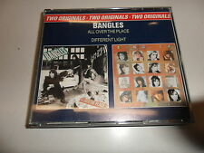 Cd   Bangles  ‎– Two Originals: All Over The Place & Different Light