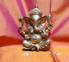 Ganesha Statue en Bronze 3 kilos Ganesh Fait Main Inde Shiva Hindou Pooja Décor