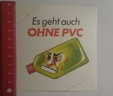 Aufkleber/Sticker: es geht auch ohne Pvc (021116158)