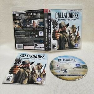 ⭐Call Of Juarez Bound In Blood PlayStation 3 PS3 Game Complete CIB Clean Disc⭐👀