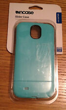 Incase CL69267 Samsung Galaxy S4 Slider Case Cover Shell Seafoam BLUE