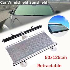 Car Retractable Front Rear Windshield Sun Block Sunshade Shade UV Visor Curtain