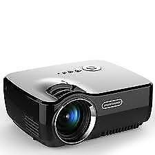 PROIETTORE GP70 1200 LM Portable video proiettori, HD 1080p, 3D Ready