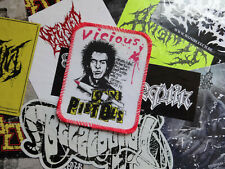 Sex Pistols Patch Screen print Official 8Os Punk