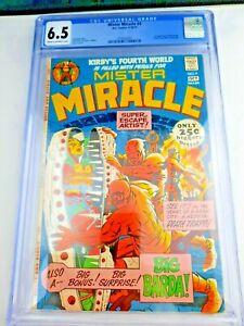 Mister Miracle #4 CGC 6.5 - 1st app BIG BARDA - 1971 Jack Kirby - NEW GODS Movie
