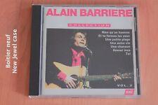 Alain Barrière - Rien qu'un homme - Toi - Une petite plage - Ce que je crains CD