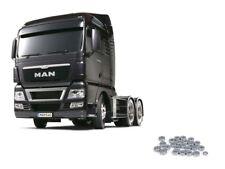 Tamiya Truck MAN TGX 26.540 Gun Metal Edition + Kugellagerset - 56346KU