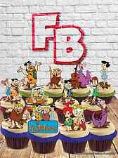 Flintstones Fred Barney Wilma Mix Edible Wafer Cake Toppers Birthday Standup Mix