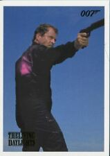 James Bond Archives 2016 Spectre Gold Parallel Living Daylights Chase Card #4