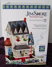 JIM SHORE DEPT 56 HEARTWOOD CREEK HOMESTEAD HOUSE PORCELAIN BLDG 2011 ~ NIB