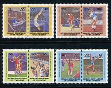 Bequia of st vincent  MNH Olympics Los Angeles-1984 Judo, Weight lifting, x27876