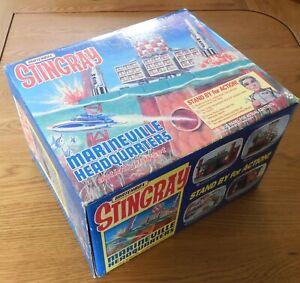 VINTAGE MATCHBOX STINGRAY MARINEVILLE ACTION PLAYSET MINT BOXED UNOPENED