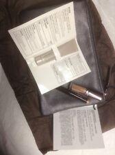 Laura Mercier 4 Pc Set Makeup Bag, Lip Gloss, Caviar Stick, Tinted Moisturizer