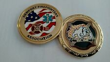 Newport Firefighter's Association Challenge Coin
