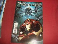 IRON MAN #502  Matt Fraction -  Marvel Comics 2011 VF