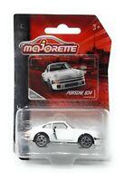 Majorette Model Car metal Premium Vintage Serie Porsche 934 white 1/57