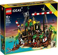 LEGO Ideas 21322 - I Pirati di Barracuda Bay NUOVO