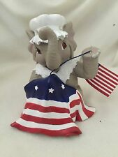 "Peanut's Salute to America Numbered Elephant ""Our Flag Was Still There"""