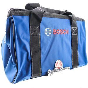 "BOSCH OEM Part No. 2610041762 NEW Canvas Contractor Power Tool Bag 19""x11""x15"""