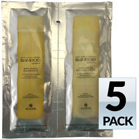 5 Pack Alterna Bamboo Smooth Anti-Frizz Shampoo & Conditioner Combo 0.35 Oz